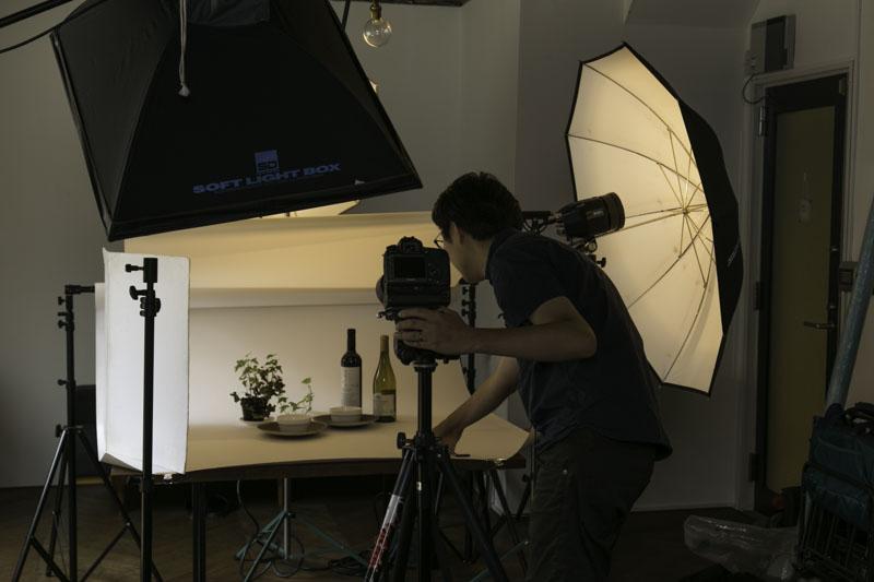 商品撮影 カメラマンが出張撮影