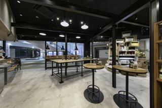 カルディコーヒーファーム カフェ 建築撮影実績